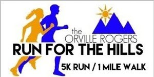 Orville Rogers Run for the Hills 2016