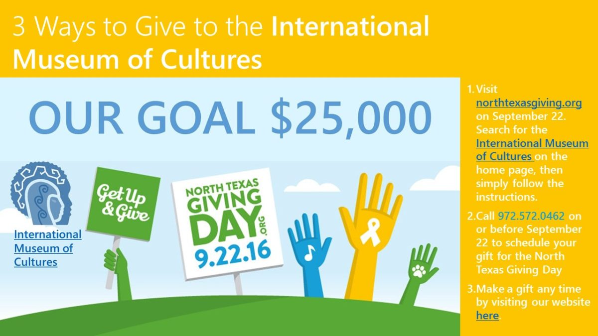 North Texas Giving Day to the IMC 9.2.16 website
